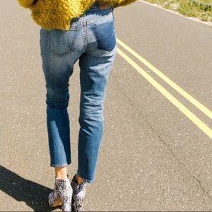 Madewell Cruiser Straight Jeans: Shadow Pocket